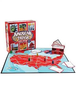 American Trivia Game - Family Edition Display 2
