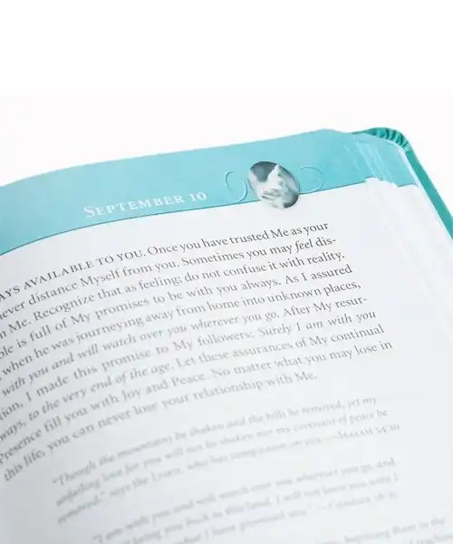 Jesus Calling Open Page