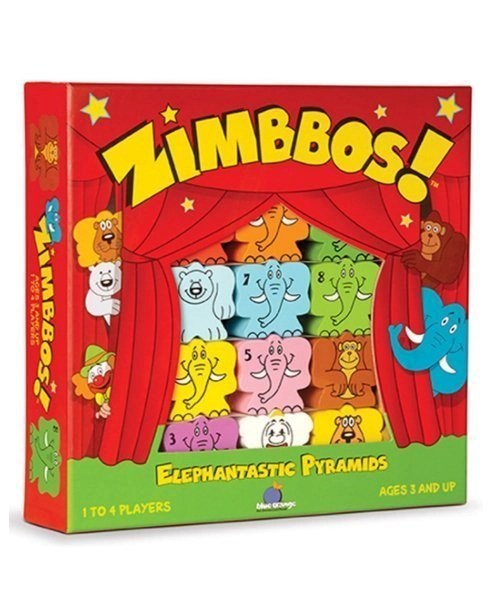 Zimbbos - Skill Building, Counting, Stacking Game for Kids - STEM Product