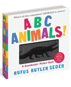 ABC Animals! Scanimation Picture Book
