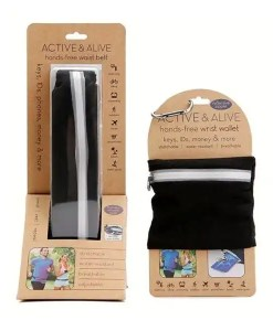 Active & Alive - Hands Free Wrist Wallet and Belt