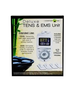 Deluxe TENS and EMS Unit - Comfort Spa