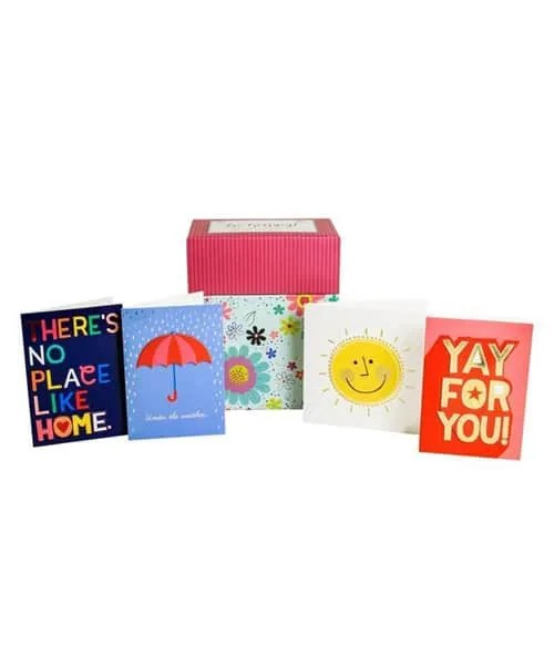 Be Happy! Handcrafted Card Collection - 24 Card Set