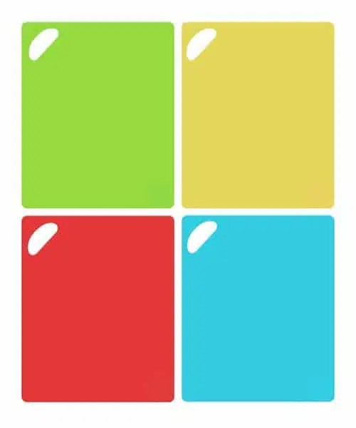 Flexi-Boards Flexible Cutting Board Colors with Handle