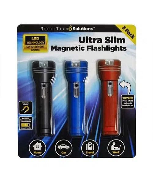 Ultra Slim Magnetic Flashlight - MultiTech Solutions