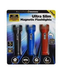 Ultra Slim Magnetic Flashlight - MultiTech Solutions