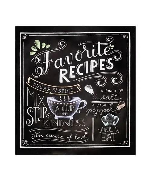 Complete Recipe Binder - Favorite Recipes - Cover