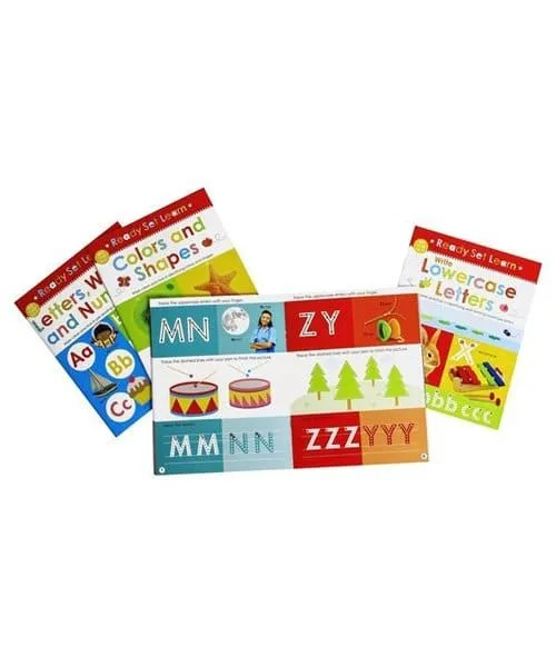 Ready Set Learn - Letters Words and Numbers
