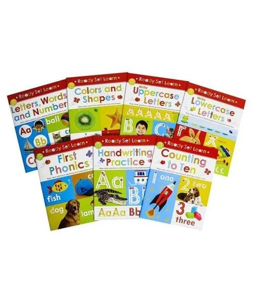 Ready Set Learn - Super 7 Book Set