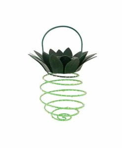 Hanging Pineapple Solar Lights - Modern Garden Design (Single Pineapple)