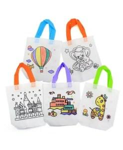 Kid's DIY Coloring Bags - 10 Pcs Set - Cover