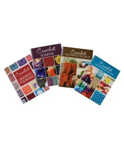 Crochet Projects Spiral 4 Book Set - Cover