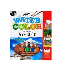 Water Color for Young Artists - Front