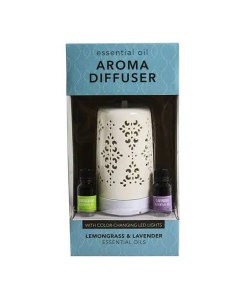 Aroma Diffuser with 2 Essential Oils - Cover
