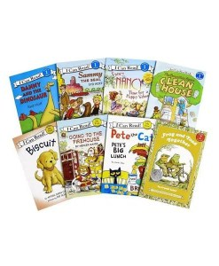 I Can Read Level 1 - 8 Book Set