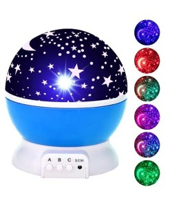 LED Starry Sky Rotating Night Light - Projector - Cover
