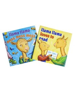 Llama Llama Mess MessLoves to Read 2-Set - Cover