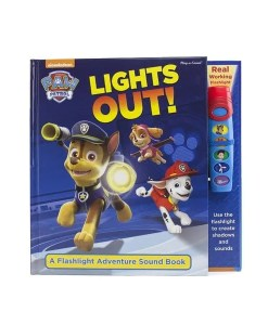 Paw Patrol Lights Out! Flashlight Book - Cover