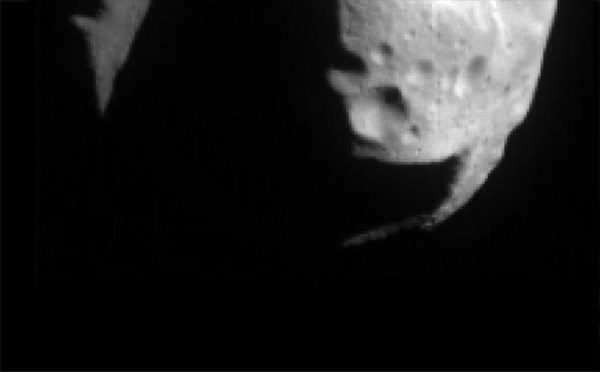 Space Images First NEAR image of Mathilde