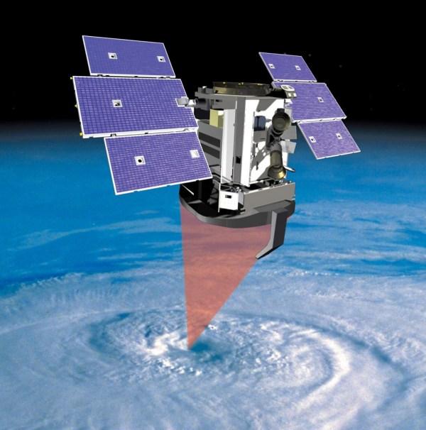 Space Images   CloudSat Studies Clouds (Artist's Concept)