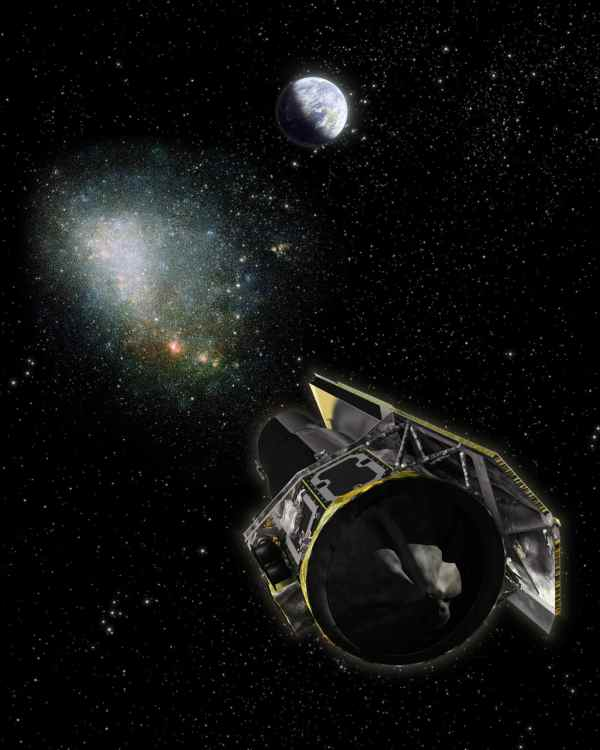 Space Images   Depth Perception in Space (Artist's Concept)