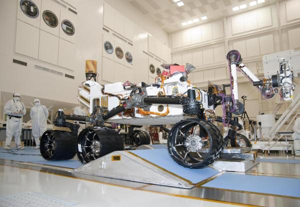 Space Images NASAs Next Mars Rover on a Test Drive