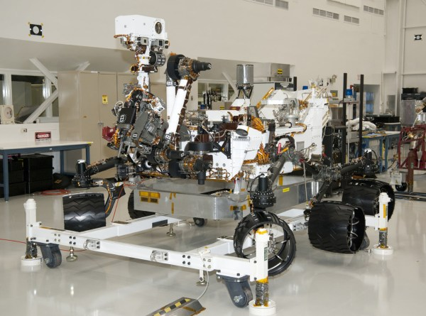 Space Images NASA Mars Rover Curiosity at JPL View from