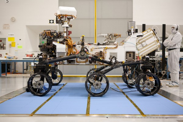 Space Images NASAs Curiosity Rover in Profile