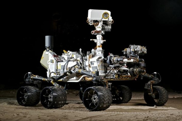 Space Images NASAs Vehicle System Test Bed VSTB Rover