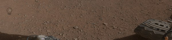 Space Images | Curiosity's First Rock Star