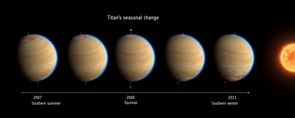 Space Images Titans Changing Seasons