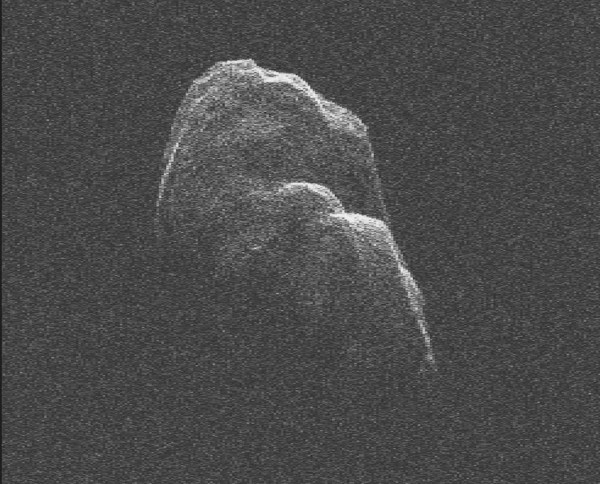 Space Images Tumbling Asteroid Toutatis
