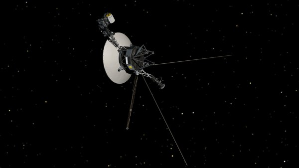 Space Images   Voyager in Space (Artist Concept)