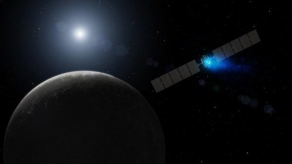 Space Images   Dawn's Arrival at Dwarf Planet (Artist Concept)