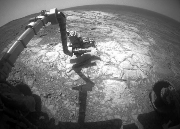 Space Images Mars Rover Opportunity Examines Bright Athens
