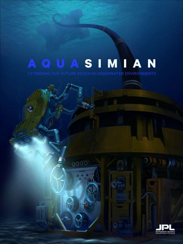 Space Images   AquaSimian Poster (Artist's Concept)