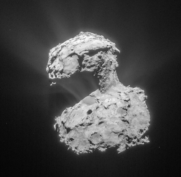 Space Images | Rosetta Comet Marches On