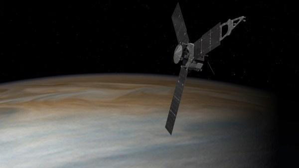 Space Images   Juno Above Jupiter (Artist's Concept)