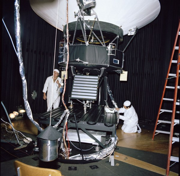 Space Images | Voyager Test Model Configuration