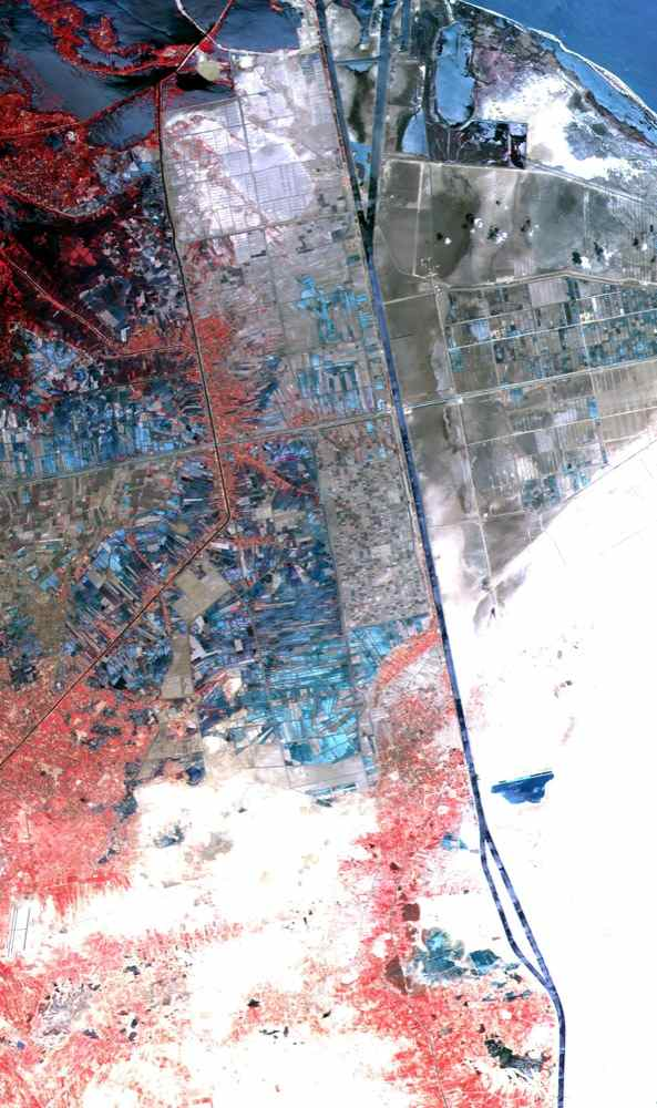 Space Images Aster Suez Canal