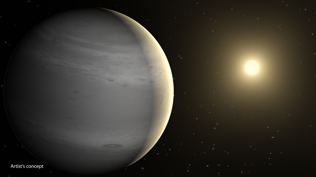 Planets having atmospheres rich in helium may be common in our galaxy, according to a new theory based on data from NASA's Spitzer Space Telescope. These planets would be around the mass of Neptune, or lighter, and would orbit close to their stars, basking in their searing heat. According to the new theory, radiation from the stars would boil off hydrogen in the planets' atmospheres. Both hydrogen and helium are common ingredients of gas planets like these. Hydrogen is lighter than helium and thus more likely to escape.