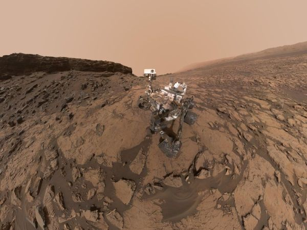 Space Images | Curiosity Self-Portrait at 'Murray Buttes'