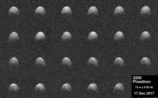 Space Images   Arecibo Observatory Radar Imagery of ...
