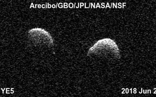 Space Images   Bi-static Radar Images of the Binary ...