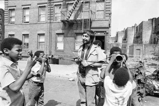 Brooklyn, New York City, NY - Summer of 1966. Jean-Pierre Laffont spends time with the kids from the Ghetto.
