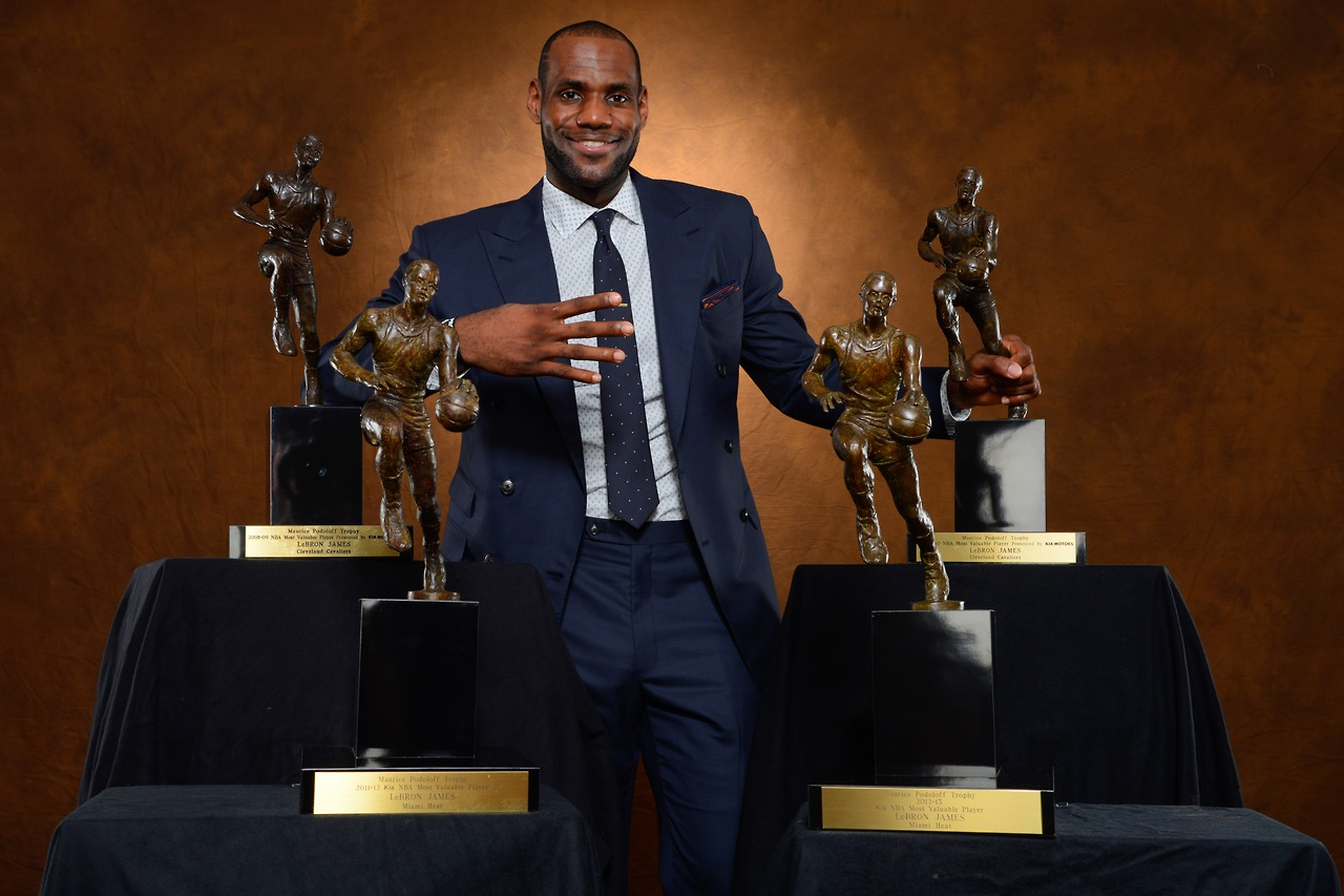 """huge selection of 4a4df 9e99a Why Lebron James """"Value"""" Has nothing to do With MVP"""