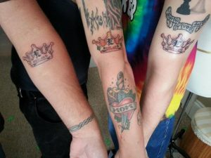 our tattoos