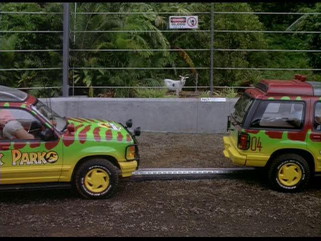 Jurassic Park Ford Explorer Orlando Florida Usa Permanent Car Displays On Waymarking Com