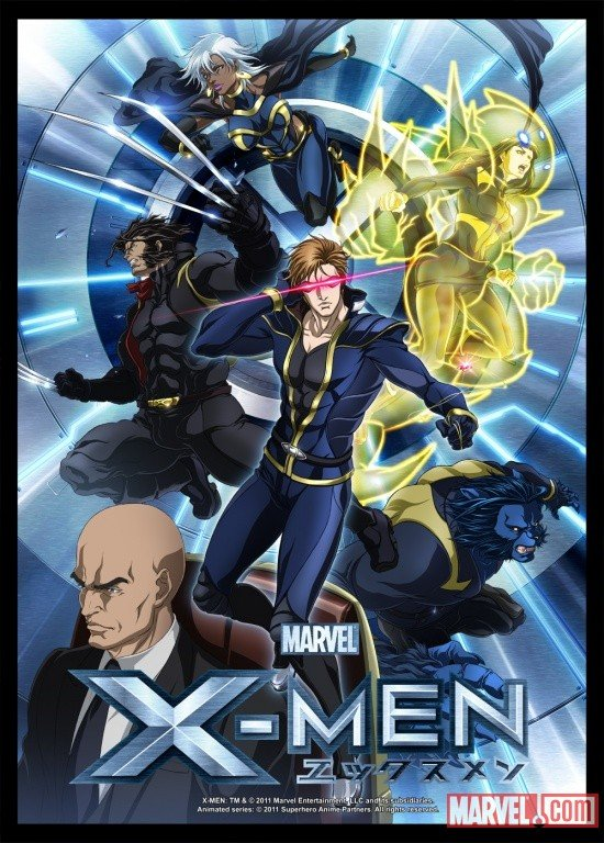 'X-Men' Anime to Join G4 on October 21