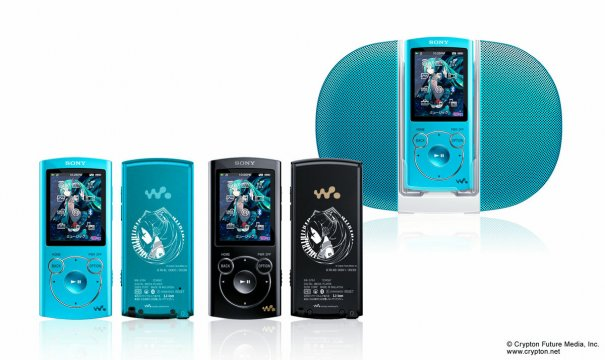 Sony to Release New Hatsune Miku Sony Walkman